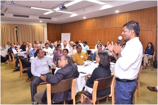 SFSA India Country Director, Baskar Reddy, presenting during the session